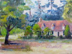 2016-07-art-landscapes-stebner-Under the Pines