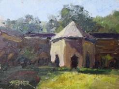 2016-40-art-stebner-landscapes-Cistercian Shadows, Thoronet