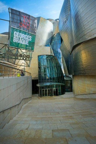 Guggenheim Entrance
