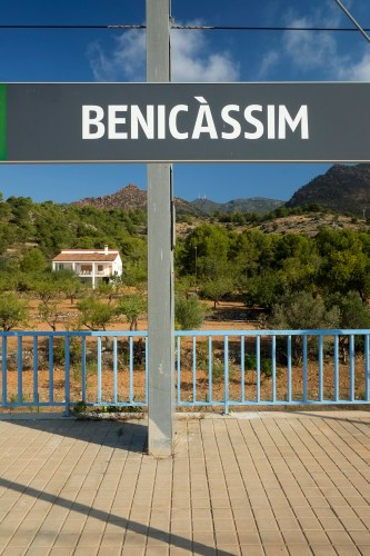 Benicassim Train Stop