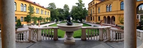 Lensbachhaus Courtyard