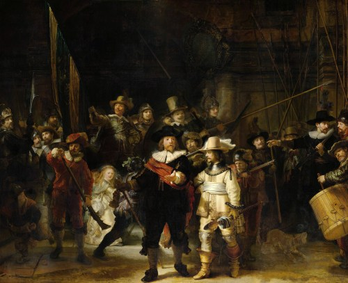 """The Night Watch"" by Rembrandt 1642"