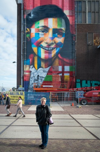 With Anne Frank in North Amsterdam