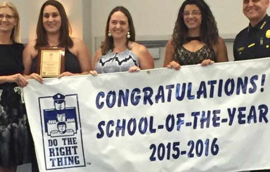 School of the Year 2015-2016