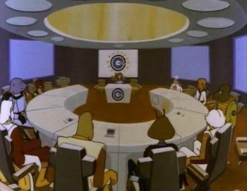 Asamblea de la Confederación Omega.