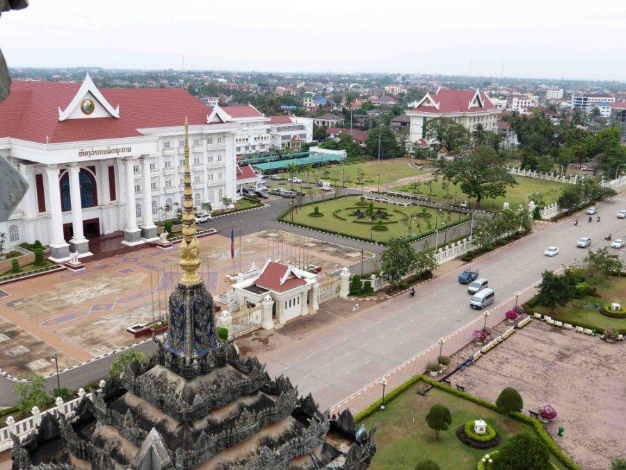 Regierungspalast in Vientiane.