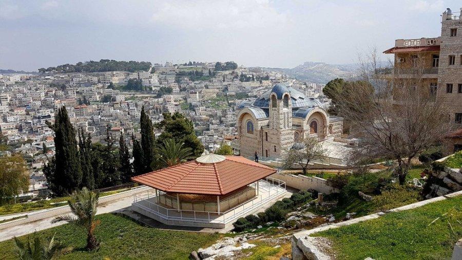 Die Hahnenschreikirche in Jerusalem