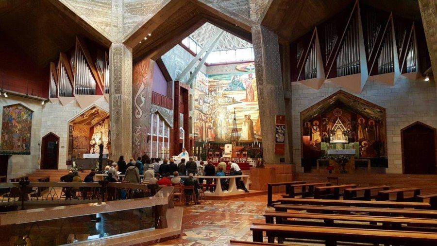 katholische Verkündigungskirche in Nazareth Israel