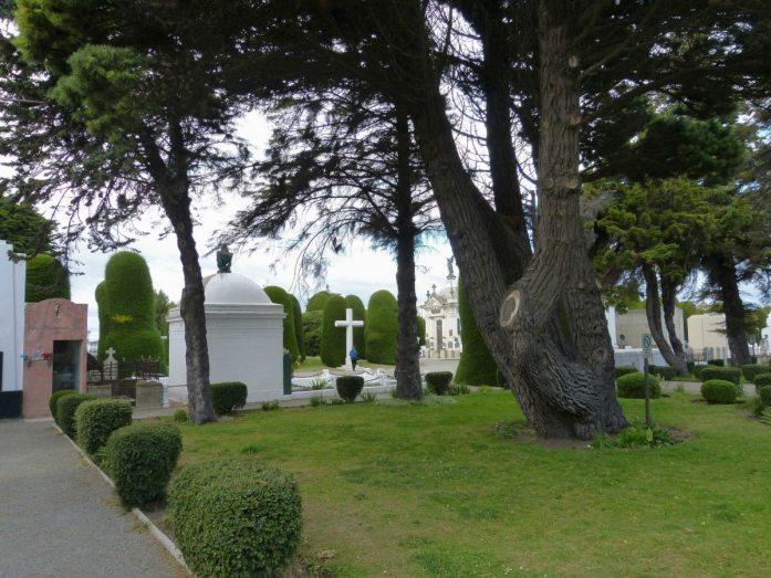 Friedhof von Punta Arenas in Chile