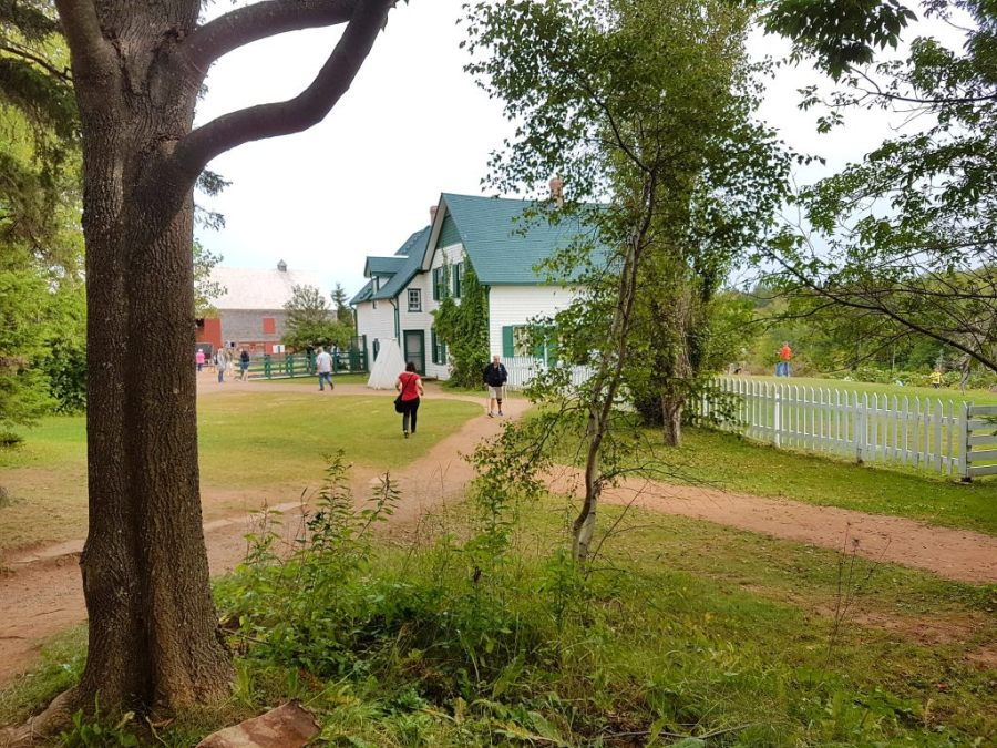 "Farmhaus aus ""Anne of green gables"" in Prince Edward Island"