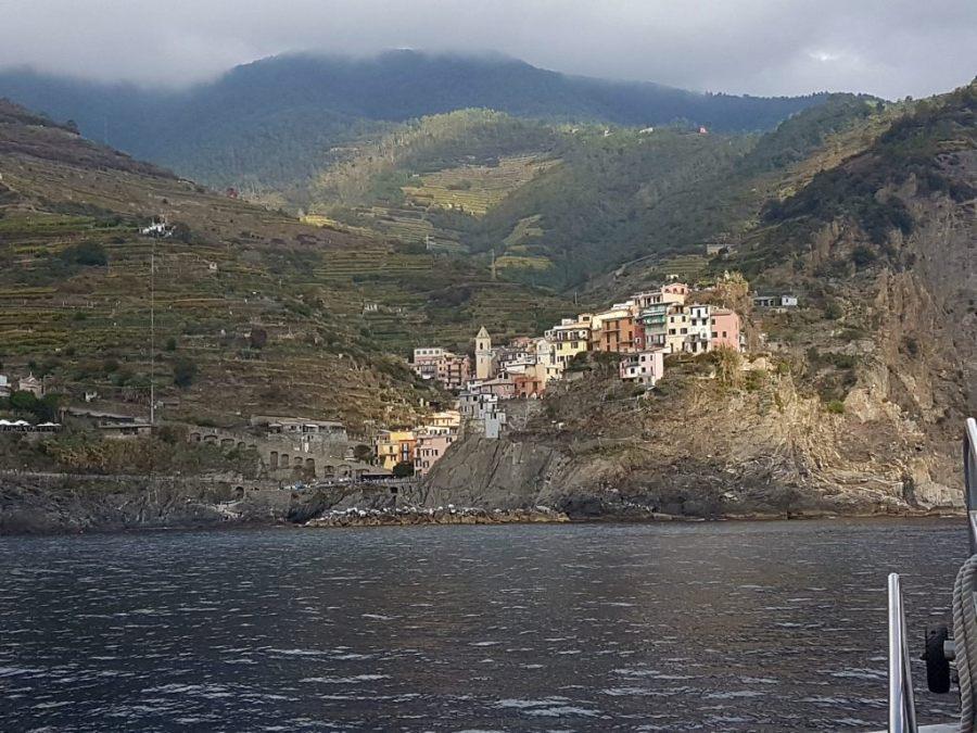 Corniglia in der Cinque Terre, Ligurien