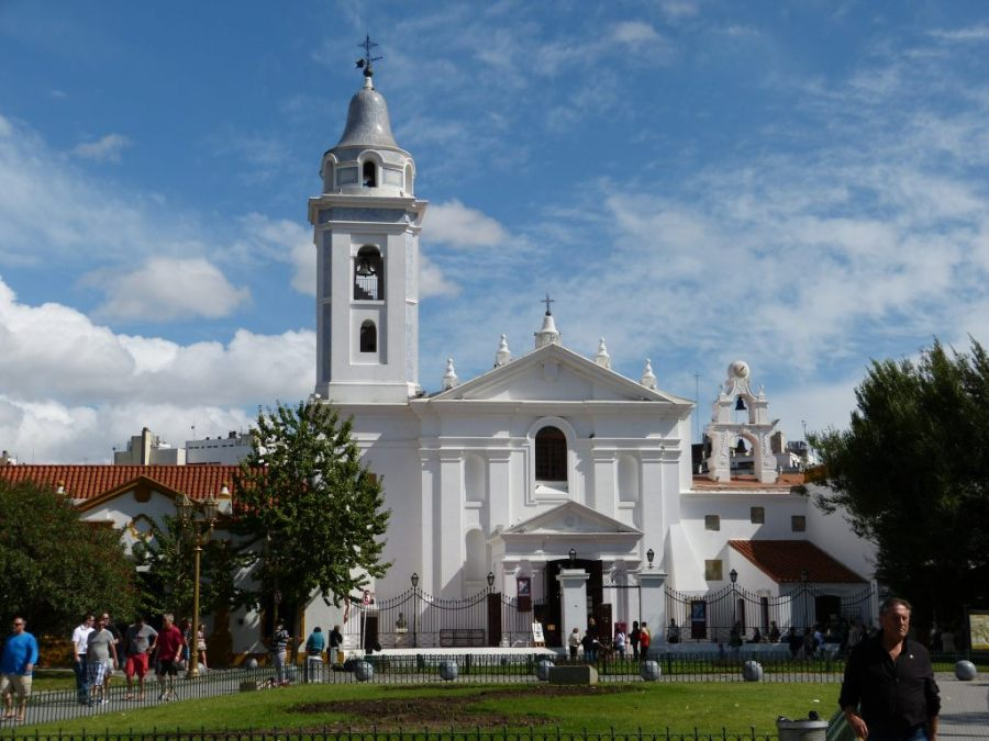 Der Friedhof La Recolea in Buenos Aires