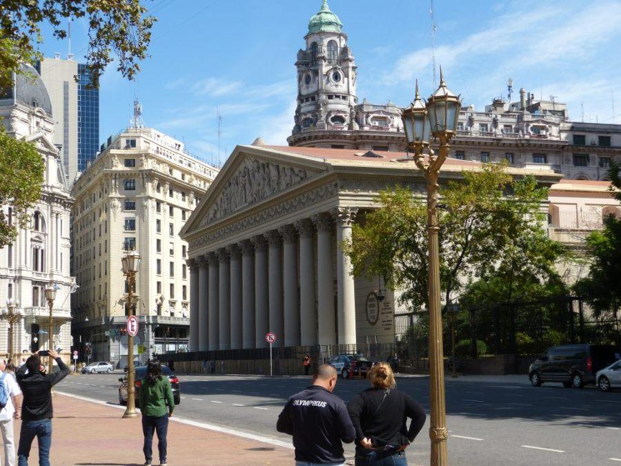 Straßenzug in Buenos Aires