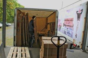 Möbellogistik und Möbeltransporte