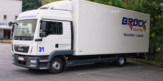 Möbel Logistik & Transport Brück Spedition Wupperta