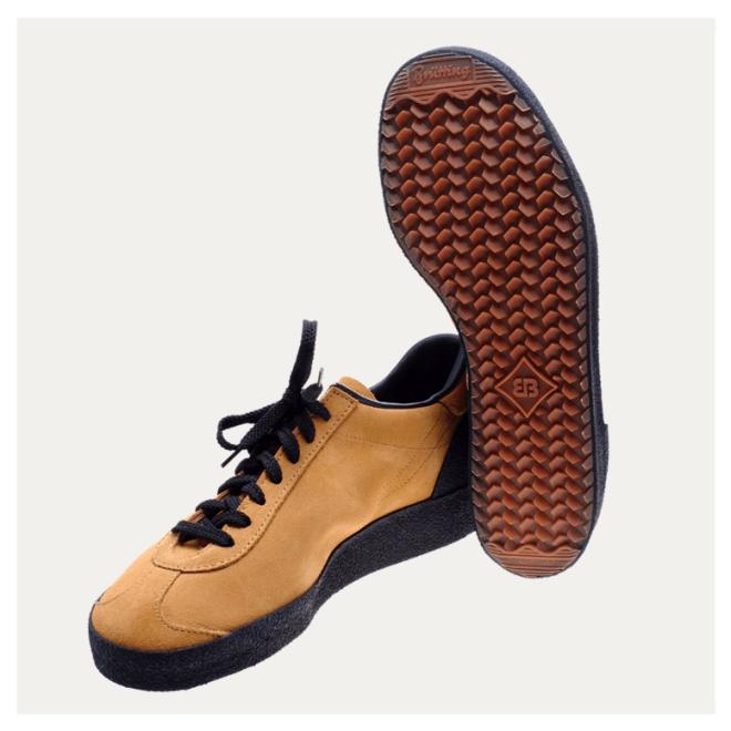 Astroturfer Brütting braun Wildleder gute Schuhe