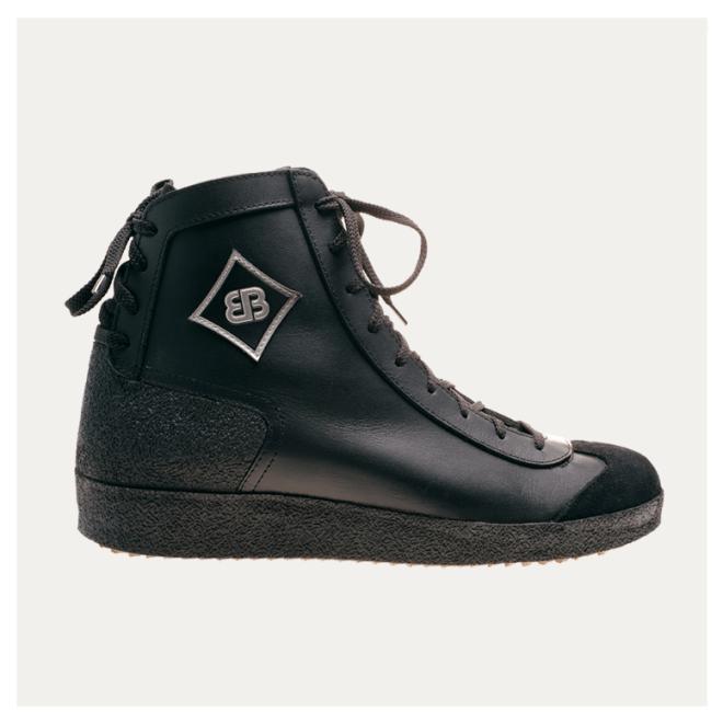Multiplex schwarz Brütting Leder Schuhe haltbar München