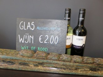 alcoholfree wine @ vegaverso Leuven