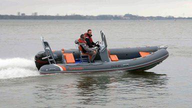 Highfield Ocean Master OM590T_Evinrude130HP