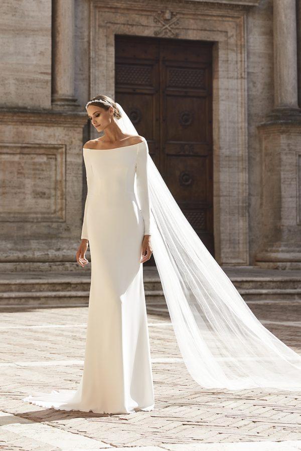 Bianco Evento_Campaign_dress NICOLE