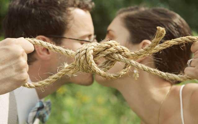 Tie the knot ritueel