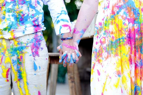 Trash the dress fotoshoot na de bruiloft