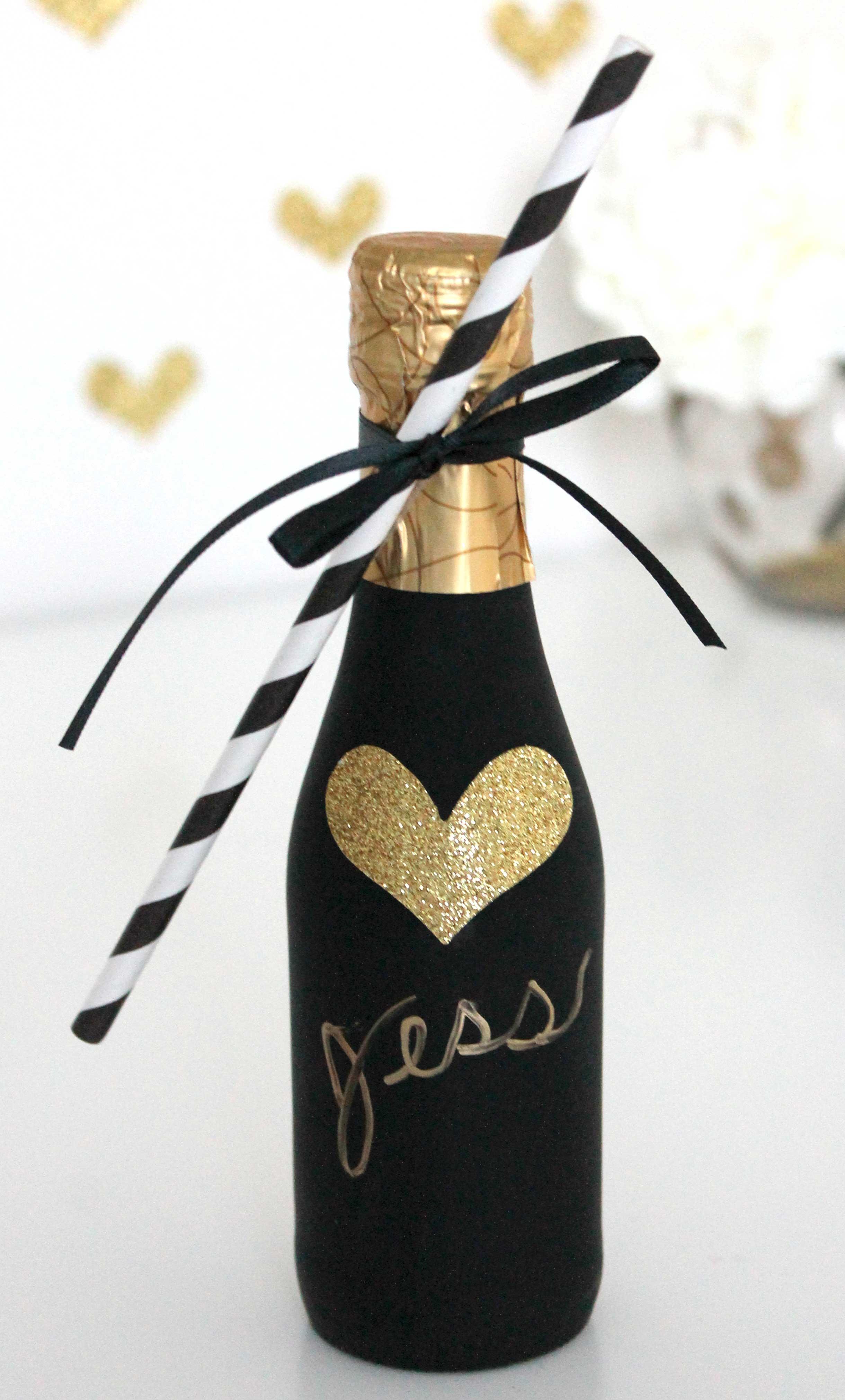 Foreveryourprintsblog diy champagne favor