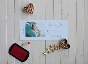 Safe the Date voor een bruiloft