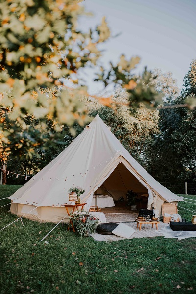Trouwweekend glamping