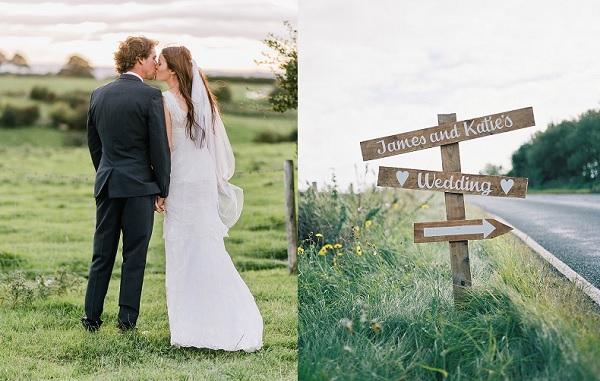 Bruiloft met hulp van ceremoniemeester