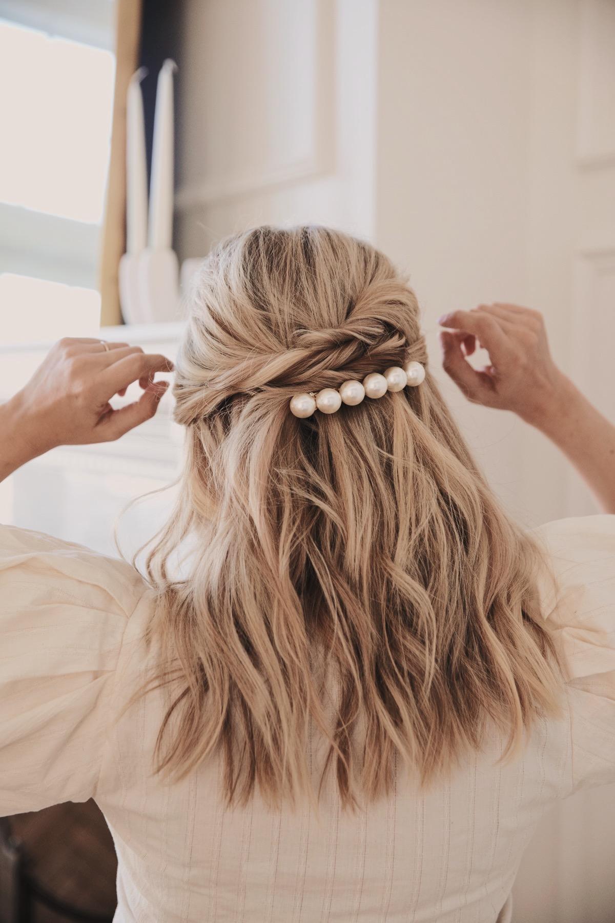 Haaraccessoires voor de bruid