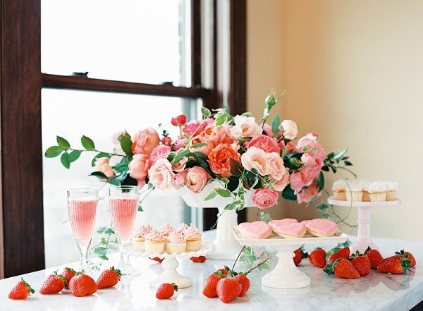 Dessert tafel bruiloft