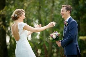 Foto van de twee trouwfotografen Mon et Mine