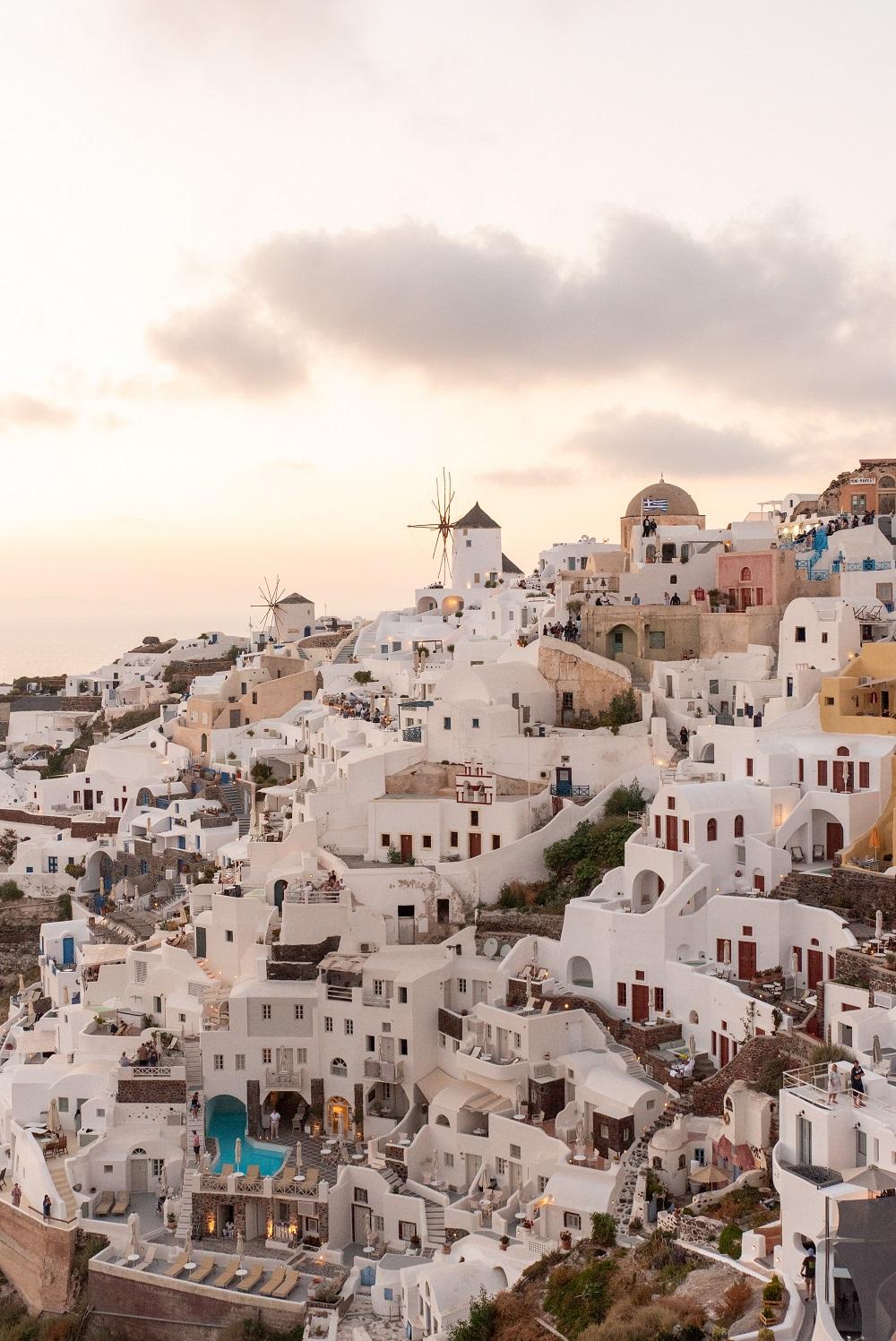 Griekenland in de huwelijksreis top 10