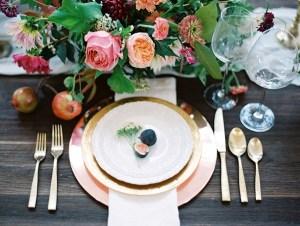 Tafel decoratie bruiloft