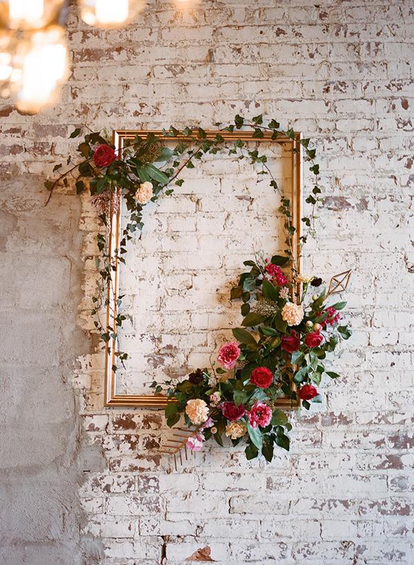 DIY schilderij met bloemen