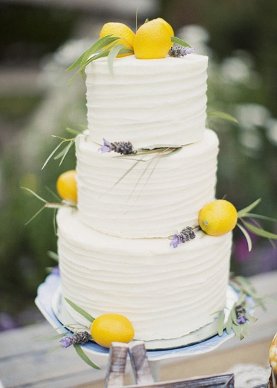 Citroen bruidstaart