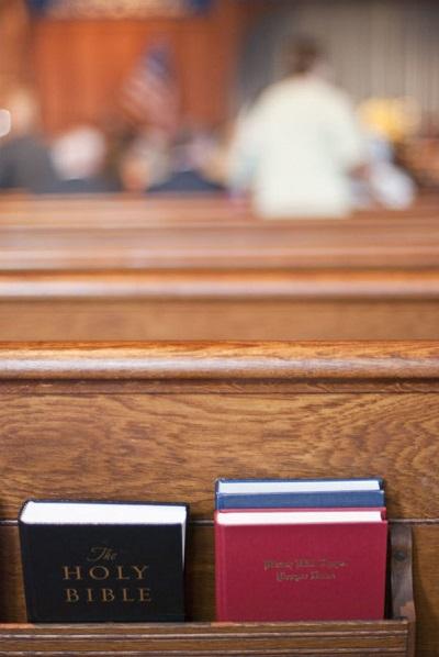 Bijbel trouwen voor de kerk