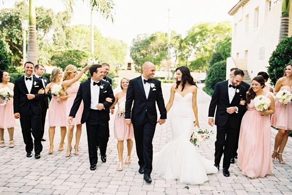 Amerikaanse bruiloft