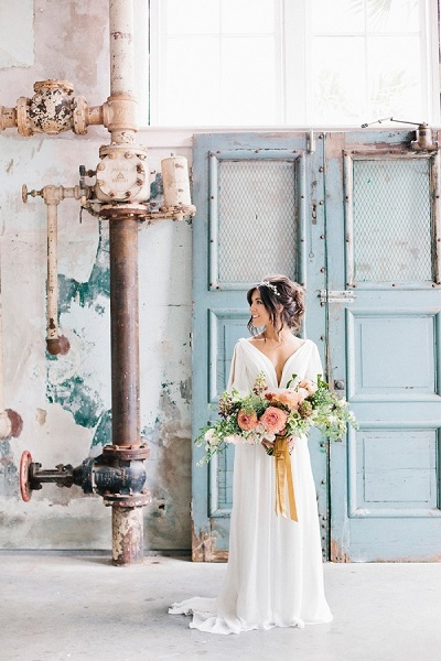 Industrieel bruiloft thema