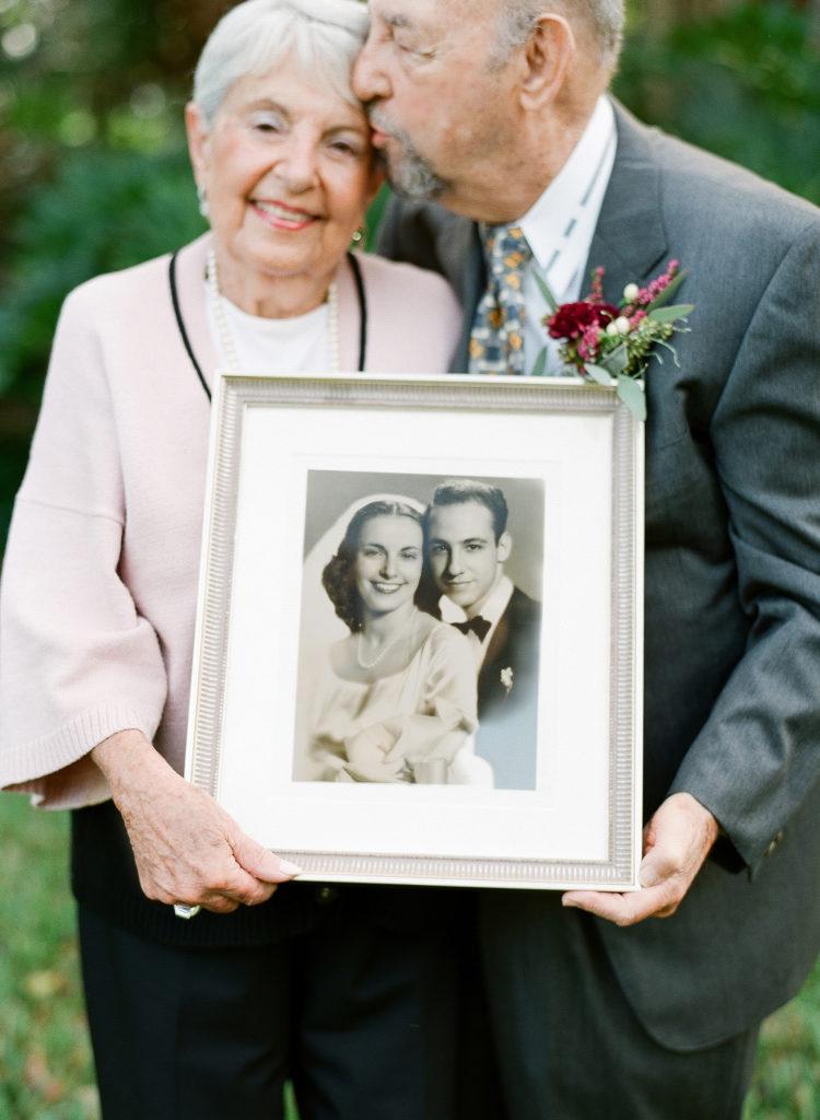 Trouwfoto van huwelijk jubilea