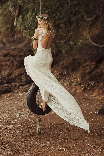 Bohemian trouwjurken
