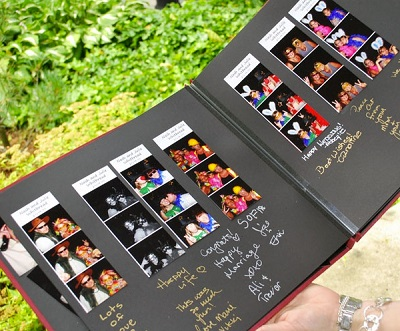 Photobooth gastenboek
