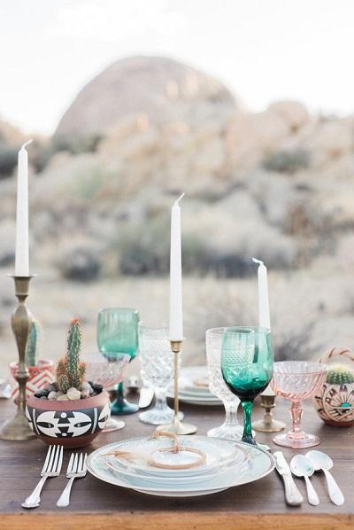 Tafel etiquette bruiloft diner