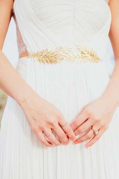 Bruid met riem