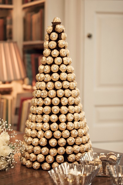 Ferrero Rocher kerstboom
