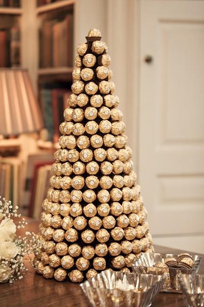 Ferrero Rocher kerstboom