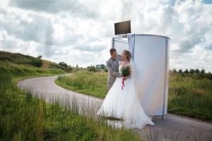 Photobooth bruidspaar