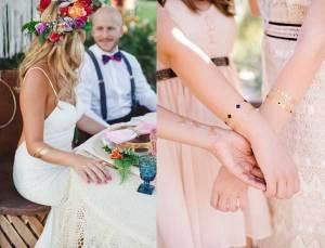 Tijdelijke tatoeage bruiloft