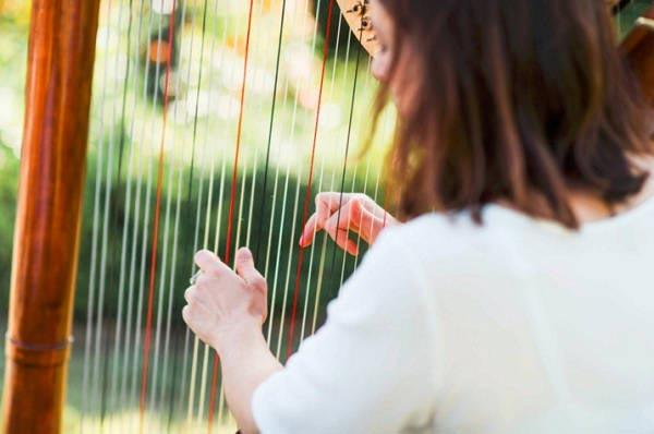 Muziek tijdens ceremonie